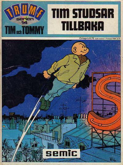 Cover for Trumfserien (Semic, 1971 series) #14 - Tim och Tommy: Tim studsar tillbaka
