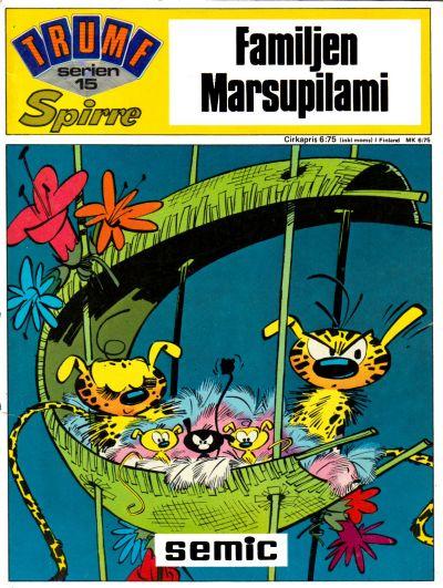 Cover for Trumfserien (Semic, 1971 series) #15 - Spirre: Familjen Marsupilami