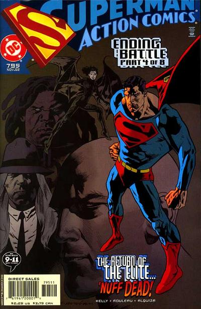 Cover for Action Comics (DC, 1938 series) #795