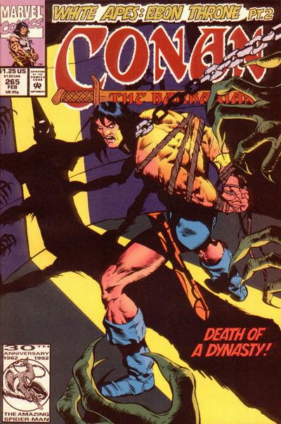 Cover for Conan the Barbarian (Marvel, 1970 series) #265 [Direct Edition]