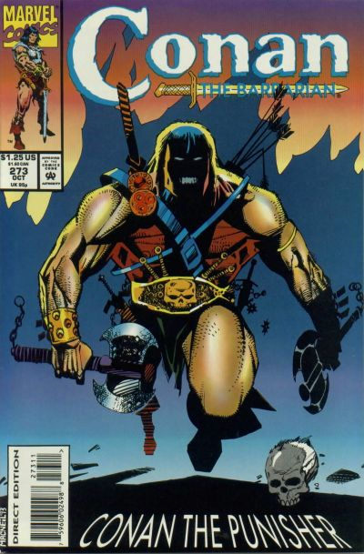 Cover for Conan the Barbarian (Marvel, 1970 series) #273 [Direct Edition]