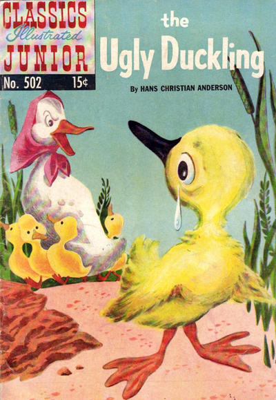 Cover for Classics Illustrated Junior (Gilberton, 1953 series) #502 - The Ugly Duckling