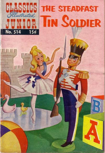 Cover for Classics Illustrated Junior (Gilberton, 1953 series) #514 - The Steadfast Tin Soldier