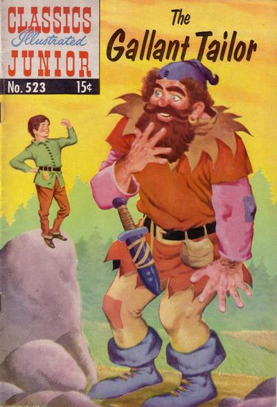 Cover for Classics Illustrated Junior (Gilberton, 1953 series) #523 - The Gallant Tailor
