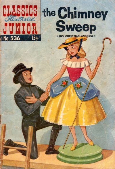 Cover for Classics Illustrated Junior (Gilberton, 1953 series) #536 - The Chimney Sweep