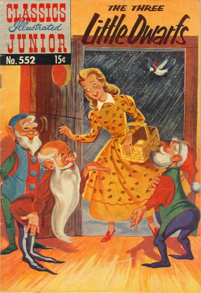 Cover for Classics Illustrated Junior (Gilberton, 1953 series) #552 - The Three Little Dwarfs