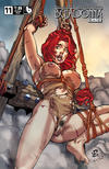 Cover Thumbnail for Belladonna: Fire and Fury (2017 series) #11 [Bondage Nude Cover]