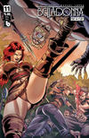 Cover Thumbnail for Belladonna: Fire and Fury (2017 series) #11 [Viking Vixen Cover]