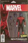 Cover for Uncanny X-Men (Marvel, 2019 series) #8 [John Tyler Christopher Action Figure (Nightcrawler)]