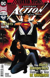 Cover Thumbnail for Action Comics (DC, 2011 series) #1007 [Steve Epting Cover]