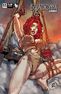 Cover Thumbnail for Belladonna: Fire and Fury (Avatar Press, 2017 series) #11 [Bondage Cover]