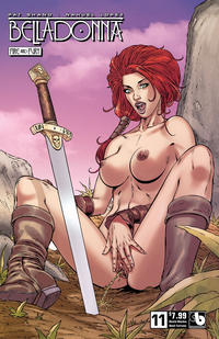 Cover Thumbnail for Belladonna: Fire and Fury (Avatar Press, 2017 series) #11 [Shield Maiden Adult Extreme Cover]