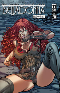 Cover Thumbnail for Belladonna: Fire and Fury (Avatar Press, 2017 series) #11 [Simmering Rage Cover]