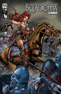 Cover Thumbnail for Belladonna: Fire and Fury (Avatar Press, 2017 series) #11 [War Cry Nude Cover]