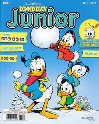 Cover Thumbnail for Donald Duck Junior (Hjemmet / Egmont, 2018 series) #1/2019