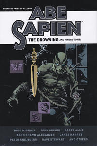 Cover Thumbnail for Abe Sapien: The Drowning and Other Stories (Dark Horse, 2018 series)