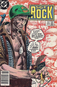 Cover Thumbnail for Sgt. Rock (DC, 1977 series) #389 [Canadian]