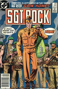 Cover Thumbnail for Sgt. Rock (DC, 1977 series) #392 [Canadian]