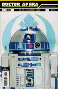 Cover Thumbnail for Doctor Aphra (Marvel, 2017 series) #27 [Rod Reis 'Galactic Icon' (R2-D2 Astromech Droid)]
