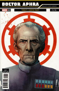 Cover Thumbnail for Doctor Aphra (Marvel, 2017 series) #22 [Rod Reis 'Galactic Icon' (Grand Moff Tarkin)]