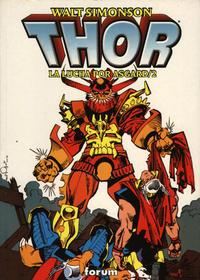 Cover Thumbnail for Thor: La Lucha por Asgard (Planeta DeAgostini, 1999 series) #2