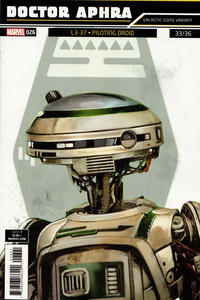 Cover Thumbnail for Doctor Aphra (Marvel, 2017 series) #26 [Rod Reis 'Galactic Icon' (L3-37 Piloting Droid)]
