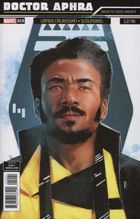 Cover Thumbnail for Doctor Aphra (Marvel, 2017 series) #19 [Rod Reis 'Galactic Icon' (Lando Calrissian)]
