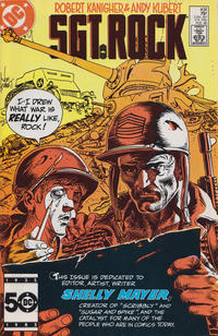 Cover Thumbnail for Sgt. Rock (DC, 1977 series) #408 [Direct]