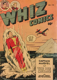 Cover Thumbnail for Whiz Comics (Anglo-American Publishing Company Limited, 1948 series) #110