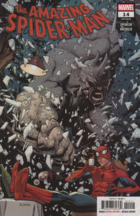 Cover for Amazing Spider-Man (Marvel, 2018 series) #14 (815) [Regular Edition - Ryan Ottley Cover]