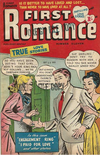 Cover Thumbnail for First Romance (Magazine Management, 1952 series) #11