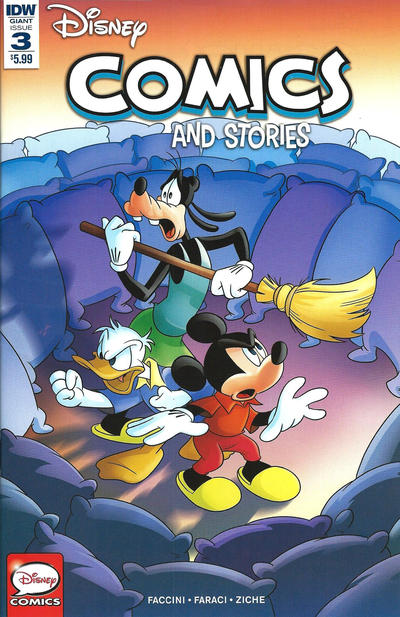 Cover for Disney Comics and Stories (IDW, 2018 series) #3 / 746