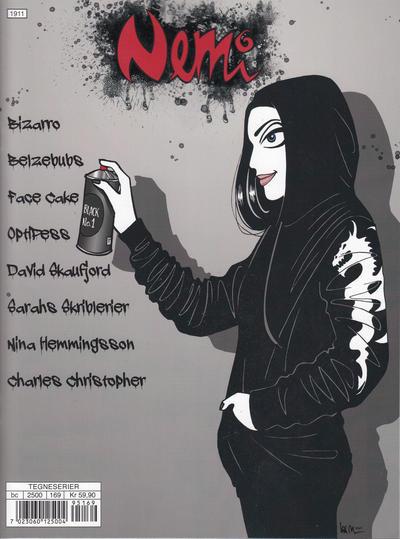 Cover for Nemi (Gyldendal Norsk Forlag, 2018 series) #169