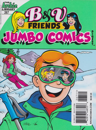 Cover for B&V Friends Double Digest Magazine (Archie, 2011 series) #267