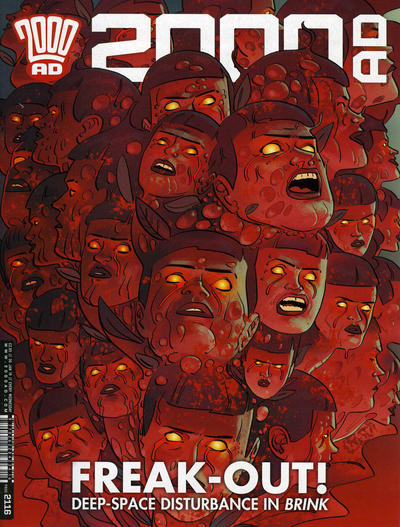 Cover for 2000 AD (Rebellion, 2001 series) #2116