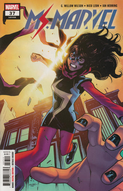 Cover for Ms. Marvel (Marvel, 2016 series) #37 [Variant Edition]