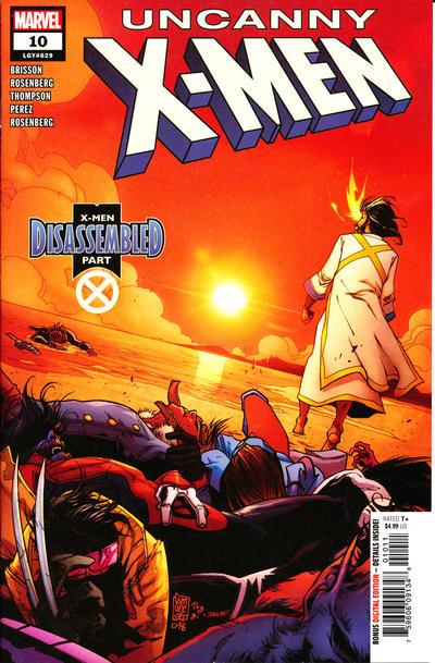 Cover for Uncanny X-Men (Marvel, 2019 series) #10 (629) [John Tyler Christopher Action Figure]