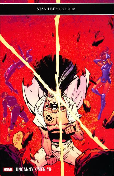 Cover for Uncanny X-Men (Marvel, 2019 series) #9