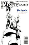 Cover for Mystery Society (IDW, 2010 series) #1 [Cover RE - Harrison's Comics Exclusive - Fiona Staples Black and White]