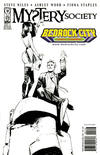 Cover for Mystery Society (IDW, 2010 series) #1 [Cover RE - Bedrock City Comic Company Exclusive - Fiona Staples Black and White]