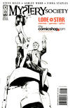 Cover for Mystery Society (IDW, 2010 series) #1 [Cover RE - Lone Star Comics / mycomicshop.com Shared Exclusive - Fiona Staples Black and White]