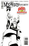 Cover for Mystery Society (IDW, 2010 series) #1 [Cover RE - Madness Games & Comics Exclusive - Fiona Staples Black and White]