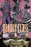 Cover for Deadly Class (Image, 2014 series) #1 [Beach Ball Comics Variant]