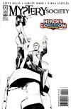 Cover for Mystery Society (IDW, 2010 series) #1 [Cover RE - Heroes Convention Exclusive - Fiona Staples Black and White]