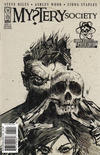 Cover for Mystery Society (IDW, 2010 series) #1 [Cover RE - Larry's Comics Exclusive - Ashley Wood Black and White]