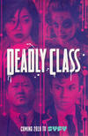 Cover for Deadly Class (Image, 2014 series) #1 [2018 SDCC Exclusive Cast Photo Cover]