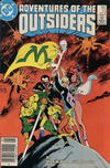 Cover for Adventures of the Outsiders (DC, 1986 series) #33 [Canadian]