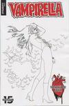 Cover Thumbnail for Vampirella Valentine's Day Special (2019 series) #1 [Black and White Cover Ergün Gündüz]