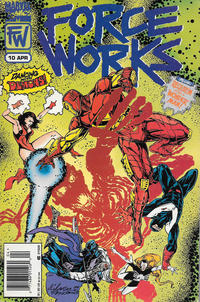 Cover for Force Works (Marvel, 1994 series) #10 [Direct Edition]