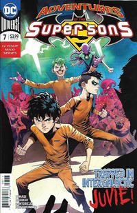 Cover Thumbnail for Adventures of the Super Sons (DC, 2018 series) #7